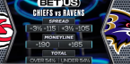 Chiefs vs. Ravens Betting Preview, Prop Bets, Predictions