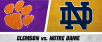 Stage Set for Marquee Matchup: Clemson vs. Notre Dame