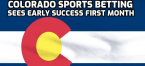 Colorado Sports Betting Revenues Hit $946,741, Even With Few Sports