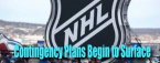 NHL Contingency Plans Come to Light, Belarus Soccer and Betting, Play Continues....With Manaquins