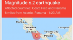 6.2 Magnitude Earthquake Hits Sportsbook Hub of Costa Rica
