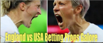 Where Can I Bet England vs. USA Online - Women's World Cup