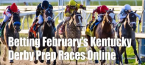 Betting February's Kentucky Derby Prep Races at Online Sportsbooks - 2020