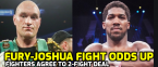 Tyson Fury-Anthony Joshua Fight Odds Released
