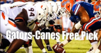 Find Betting Odds on the Gators-Hurricanes Game