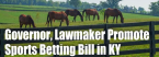 Beshear Joins GOP Lawmaker to Promote Sports Betting Bill