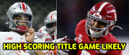 High-Scoring Title Game Expected as Alabama Opens as TD favorite