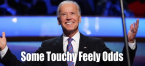 Joe Biden Touchy Feely Prop Bet - Democratic Debate