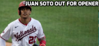 Nats Juan Soto Tests Positive for Covid-19: Won't Play in Opener
