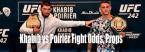 UFC 242 Betting Odds - Khabib vs. Poirier - Winner, Method of Victory, Rounds, More