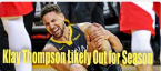 Warriors Odds Will Get Much Longer With Klay Thompson Out for Season