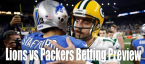 NFL Betting – Detroit Lions at Green Bay Packers