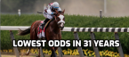 Tiz The Law has lowest Derby odds in 31 years