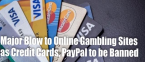 Gambling and Sports Betting News - January 14, 2020: Gambling Watchdog Bans Credit Cards for Online Gambling