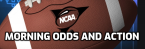 College Football Morning Odds, Action December 12