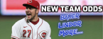 Next Team Odds for Bauer, LeMahieu, Lindor, Springer and 10 Other Players