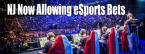 New Jersey Casinos Taking Bets on eSports Events