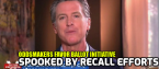 Newsom Admits He is Worried About Recall
