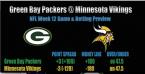 Packers vs. Vikings Prediction, Betting Preview - Week 12