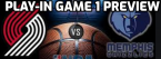 Grizzlies-Trailblazers Play-In Game 1 Betting Odds