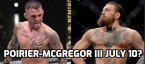 Dustin Poirier vs. Conor McGregor 3 UFC 264 Fight Odds