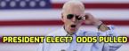 US Presidential Odds Pulled as Biden Pulls Ahead in PA