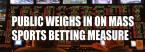 Public Weighs in on Massachusetts Sports Betting Bill