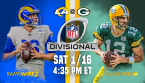 NFL Divisional Playoff: LA Rams @ Green Bay Packers Prediction