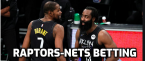 NBA Betting – Toronto Raptors at Brooklyn Nets