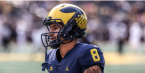 Michigan's Ronnie Bell Done for the Season
