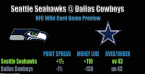 Seattle Seahawks at Dallas Cowboys - NFC Wild Card Prediction