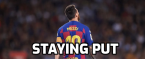 Messi to Stay Put in Barcelona