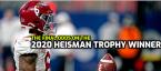 The Final Odds on the 2020 Heisman Trophy Winner
