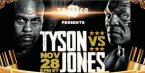 Where Can I Watch, Bet the Mike Tyson Vs. Jones Jr. Fight From Greensboro, NC