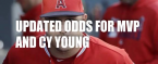 Updated Odds for MVP and Cy Young 2019