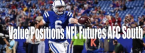 Value Positions on NFL Futures and Props: AFC South Part 2