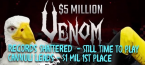 Records Shattered at $5 Million Venom Online Poker Tournament