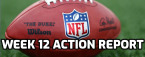 NFL Week 12 Morning Odds, Action Report