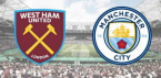 Where Can I Bet West Ham v Man City Online, Tips - 10 August