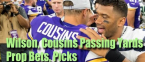 Russell Wilson Kirk Cousins Passing Yards Prop, Pick