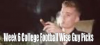 College Football – 2019 Week 6 Wise Guy Picks