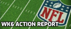 NFL Week 6 Betting Action Reports