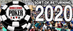 WSOP 2020 Schedule Announced .... But Only for NJ and NV Players Online